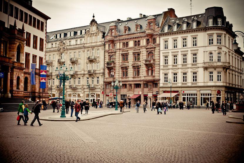 Fußgängerzone Wiesbaden