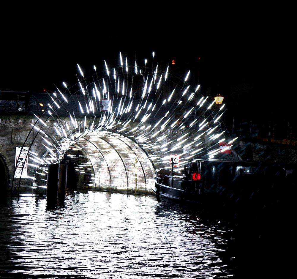 AMSTERDAM LIGHT FESTIVAL 2018-19 •Things to do in Amsterdam in Winter #lightartinstallation