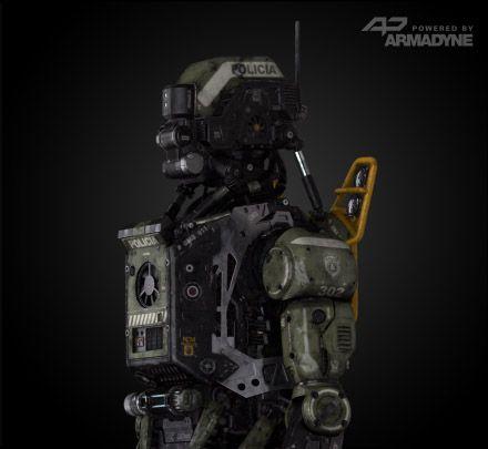 Elysium - Police Bot