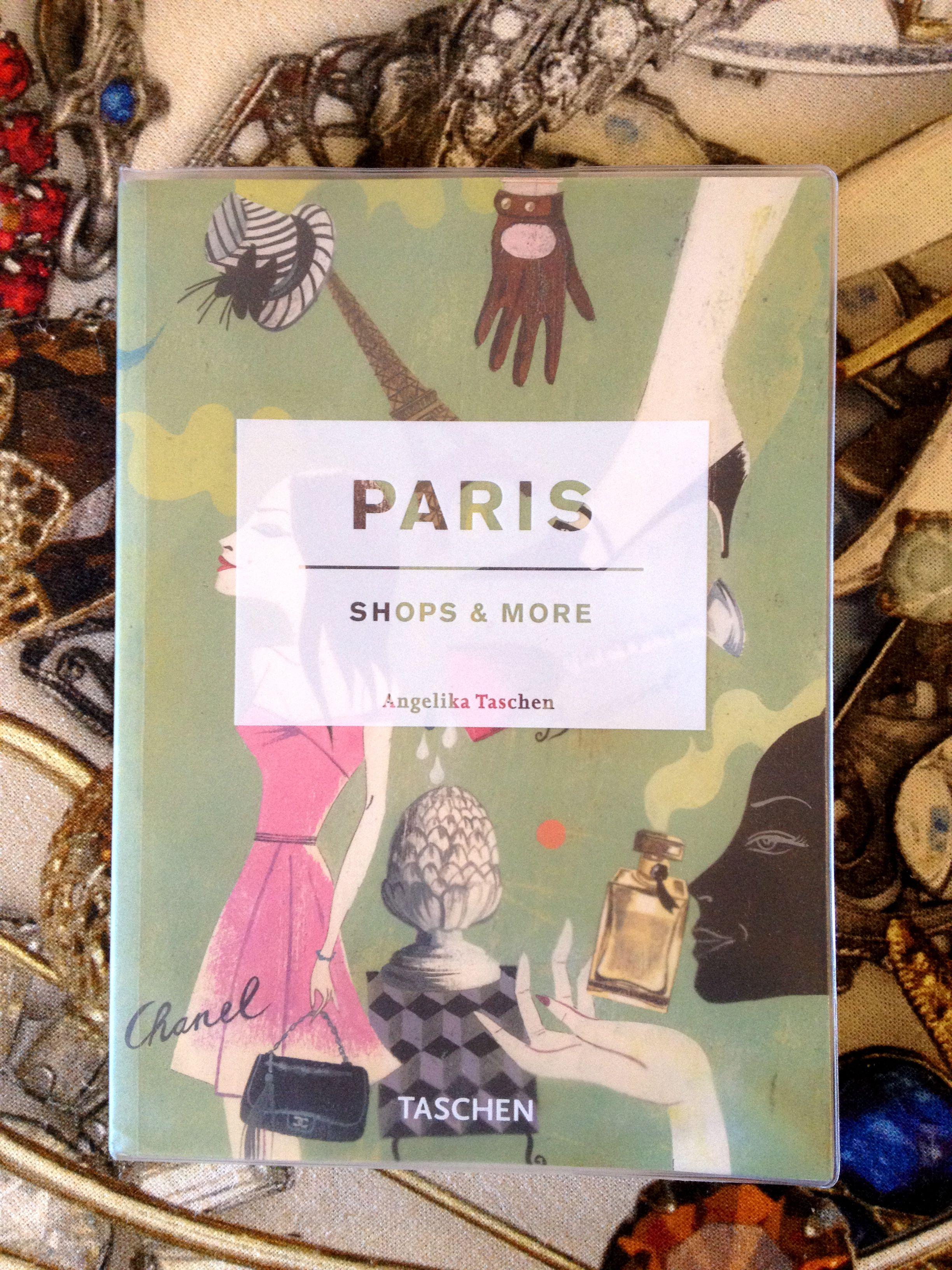 Paris by angelika taschen taschen book cover art
