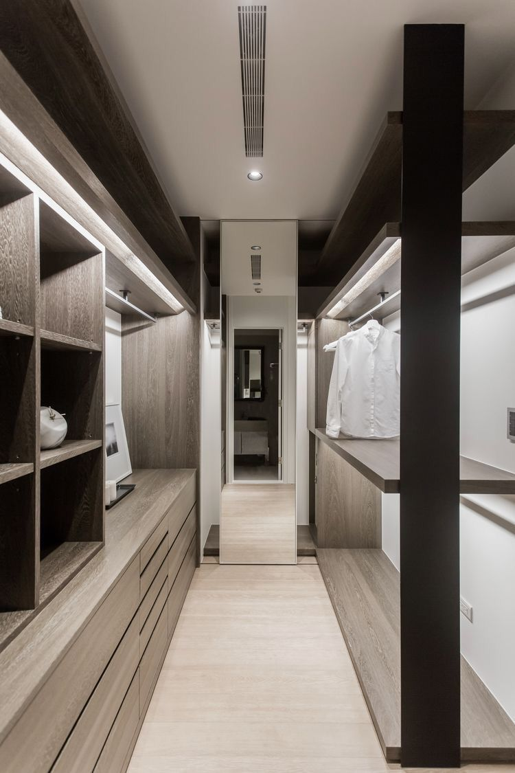 10 Beautiful Open Wardrobe Concepts For Advanced House