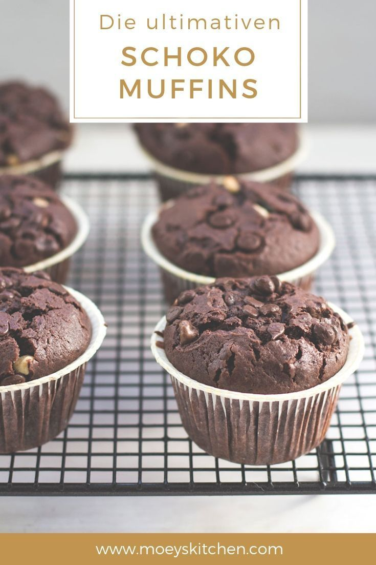 Die ultimativen Schoko-Muffins