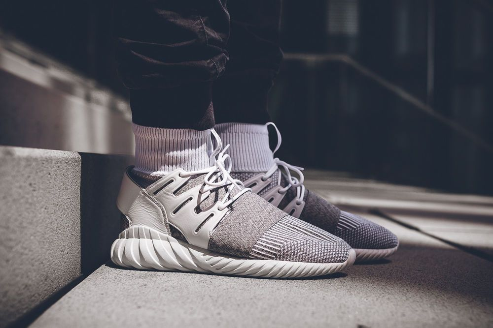 wholesale dealer cc4a9 f924e ADIDAS TUBULAR DOOM PK - BY3553 - WHITE SNEAKERS IN ALL ...