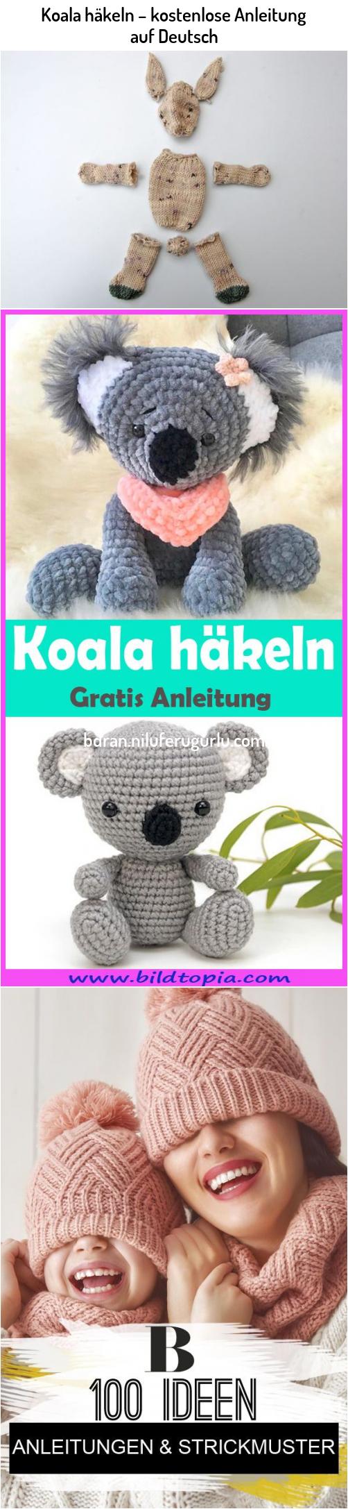 Photo of Koala häkeln – kostenlose Anleitung auf Deutsch #Koala #häkeln #– #kostenl…
