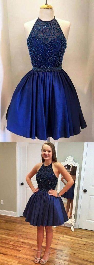 d15996c48b Pin de Beauty and Fashion Ideas en Vestidos de graduación en color azul