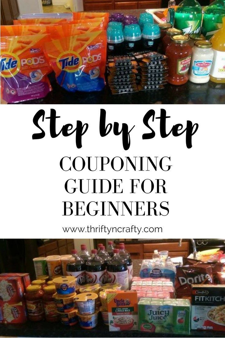 Step by Step Couponing Guide for Beginners #couponing