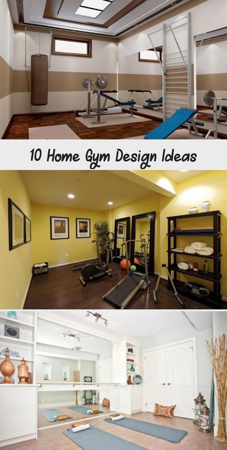 10 Home Gym Design Ideas in 2020 | Home gym design, Small ...