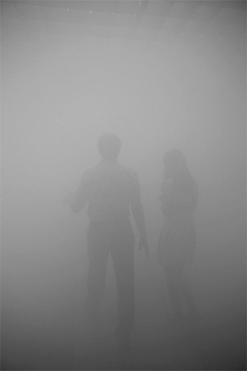 The fog of poisonous gas