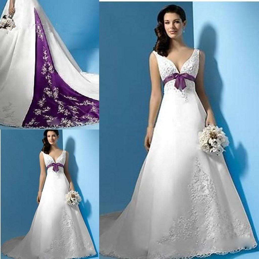 Simple Purple Wedding Dresses - Best Dresses for Wedding Check more ...