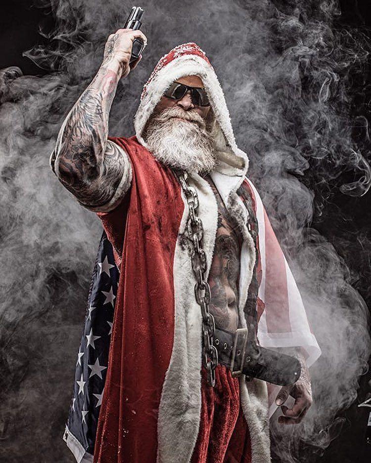 Badass Santa Juan Rekers Mental Disorder Coach On Instagram Here We Go For December First Bad Santa Shot By Camerawizards Bad Santa Creepy Christmas Santa