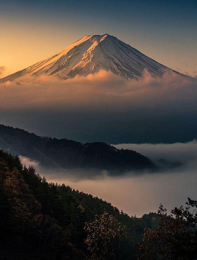 les plus beaux sommets enneig s du monde voyage voyage travel pinterest japon paysage. Black Bedroom Furniture Sets. Home Design Ideas