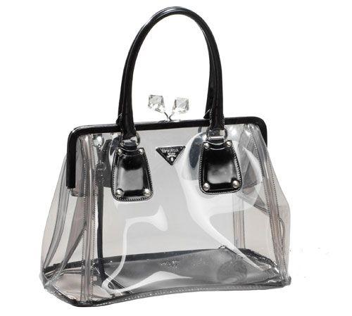 afce034031bd Prada plastic bag | PRADA | Prada bag, Bags, Prada
