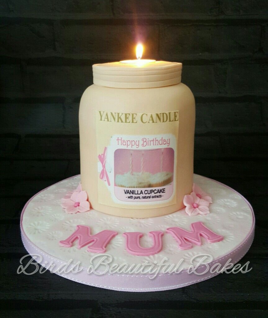 Yankee Candle Cake Images : Yankee candle cake cakes Pinterest Cake, Celebration ...