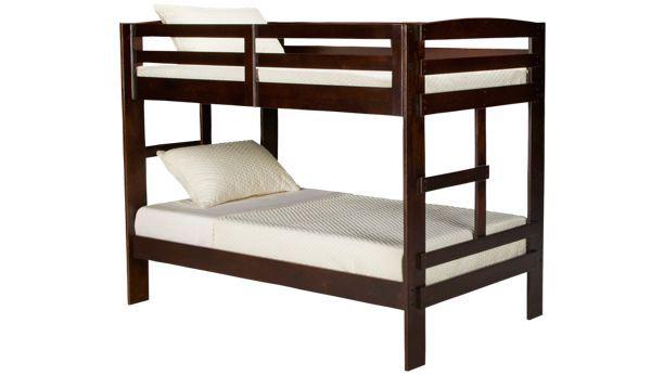 369 Oak Furniture West Campus Campus Twin Bunk Bed