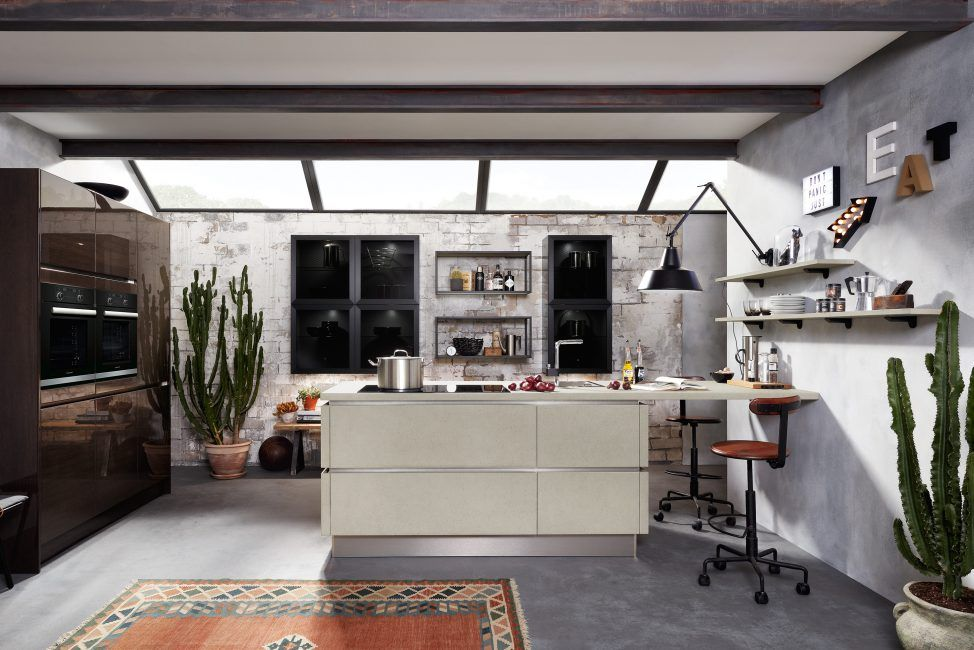 Beton in der Küche - Fotogalerie - KüchenDesignMagazin Küchen - häcker küchen systemat