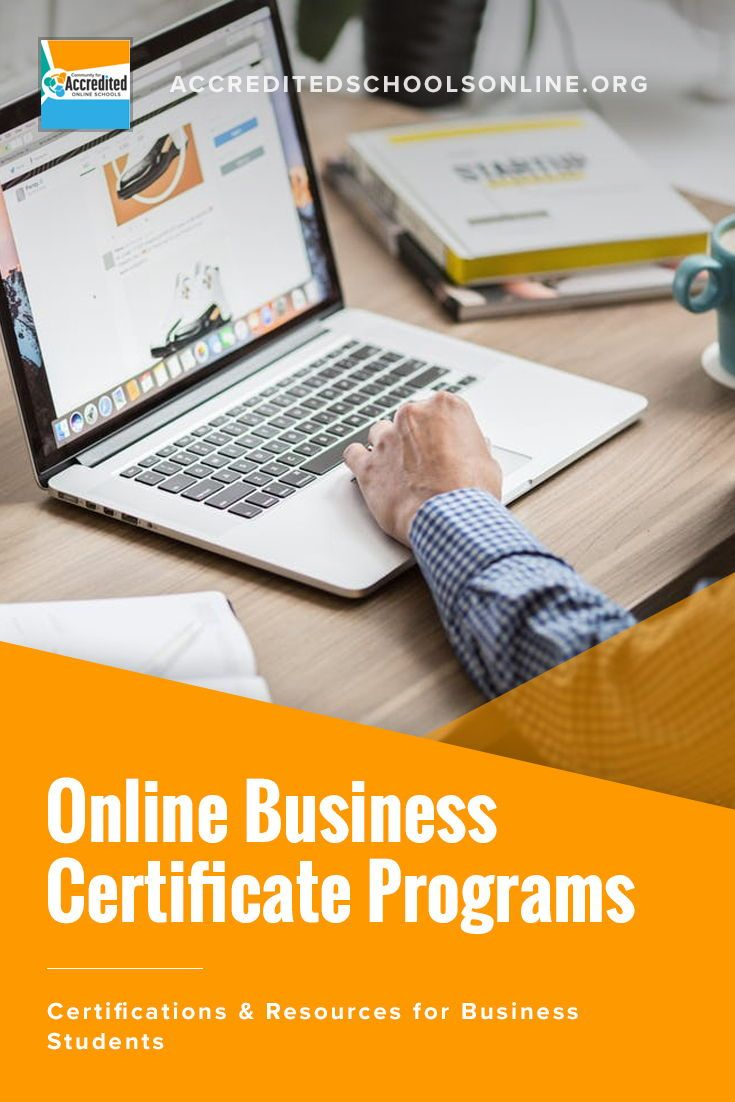 The Best Online Business Certificate Programs For Business Careers