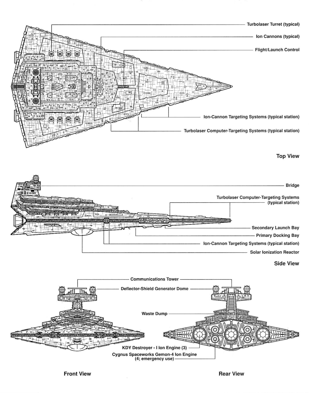 Technical Drawing Images In 2018 Star Wars Destroyers For More Photos Diagrams And Tutorials Of His Cool Origami War This Category Is Drawings Such As Schematics Blueprints