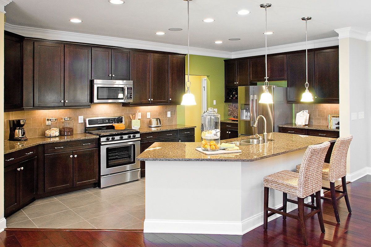 Modern Indian Open Kitchen With Dining Room   Novocom.top