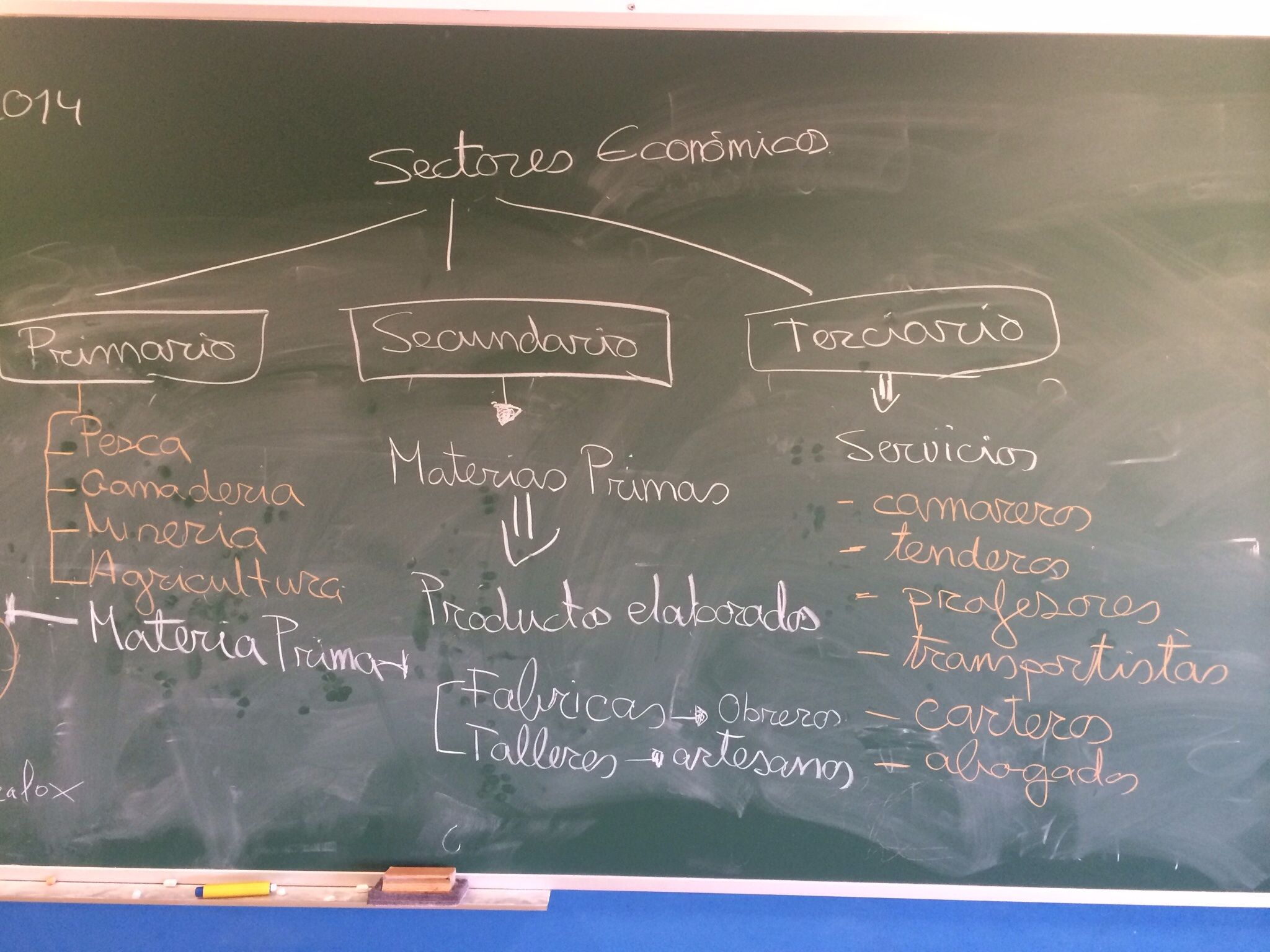 Ciencias naturales. Sectores económicos.
