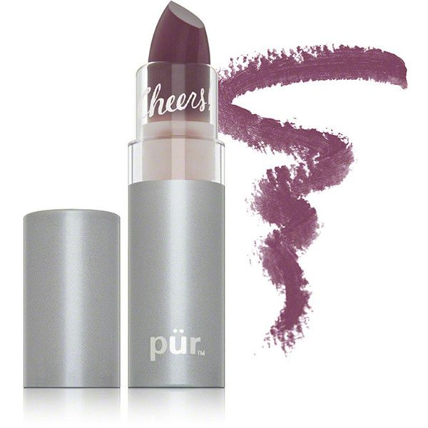 Pur Minerals Pur Minerals Chateau de Vine Lipstick - Show Off ($18) ❤ liked on Polyvore featuring beauty products, makeup, lip makeup, lipstick, mac lipstick, mineral lipstick, bare minerals lipstick, lips makeup and purminerals