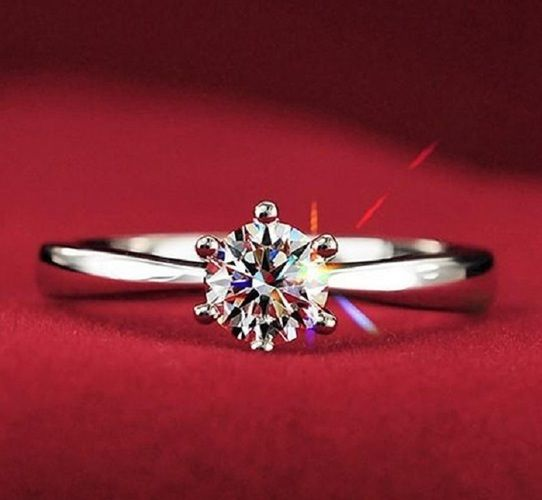 Classic Styling18K white gold plate ring. Starting at $9