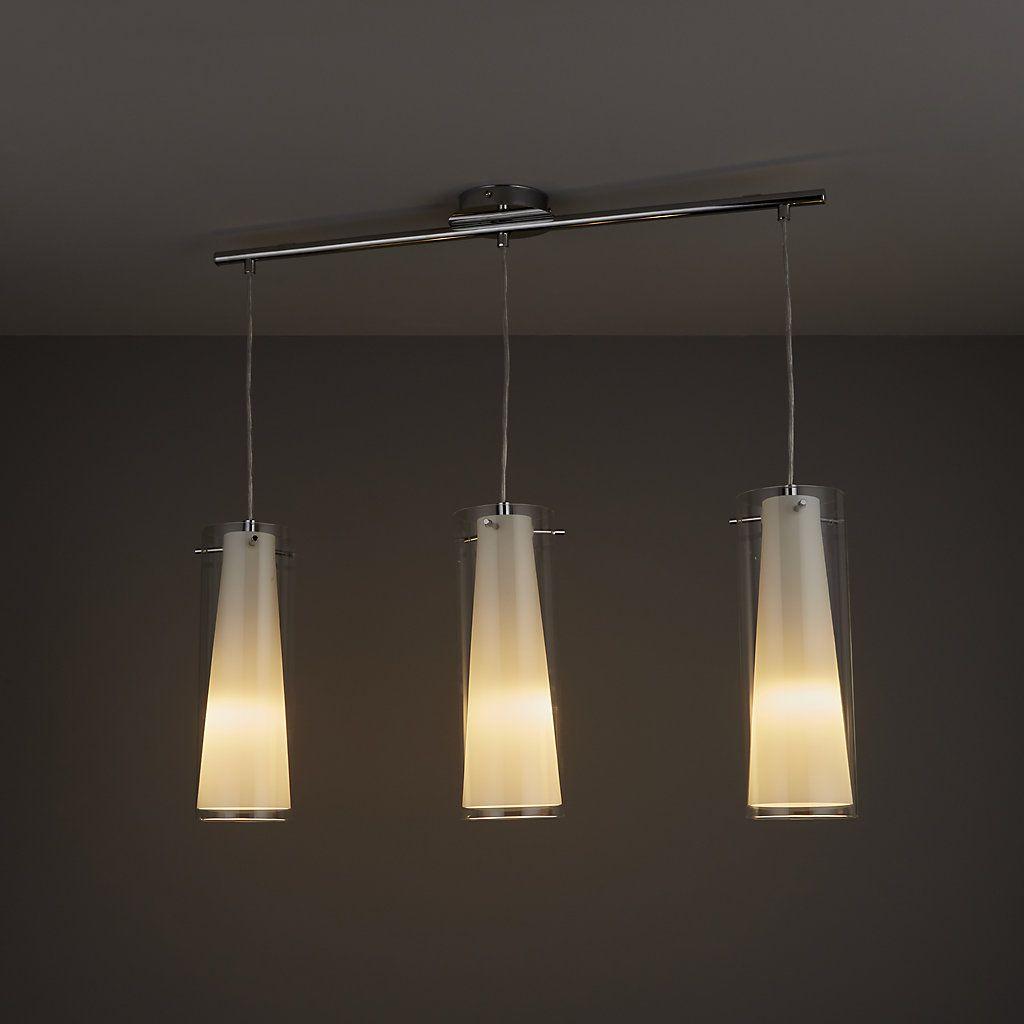Kamara Tube White 3 Lamp Pendant Ceiling Light Ceiling Lights Ceiling Lights Diy Ceiling Pendant Lights