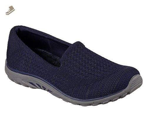 Skechers Relaxed Fit Reggae Fest Stitch Up Womens Slip On Loafers