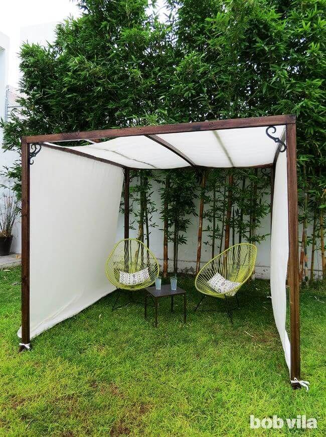 Lovely 22 Easy DIY Sun Shade Ideas For Your Backyard Or Patio