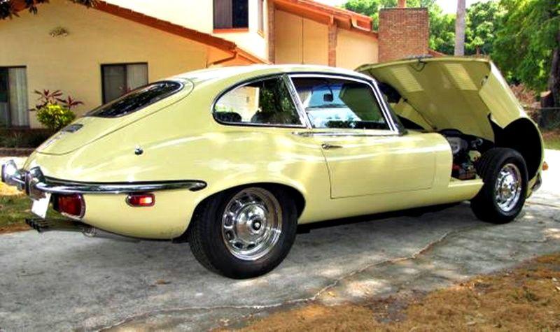 1971 Jaguar E-Type 5.3 V12 Series III