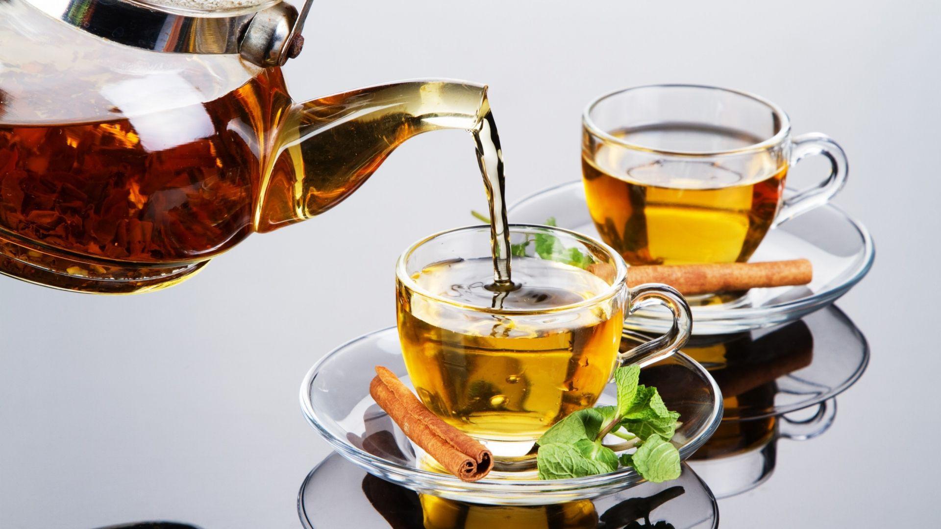 Download Wallpaper 1920x1080 Tea Cinnamon Mint Drink Full Hd 1080p Hd Background Tea Wallpaper Green Tea Recipes Mint Drink