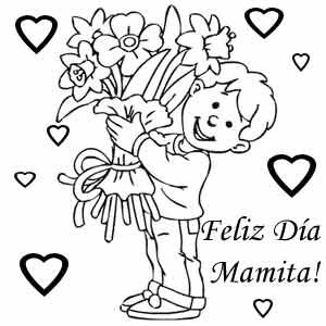 Dibujos Del Dia De La Madre Para Colorear E Imprimir Dibujos Del