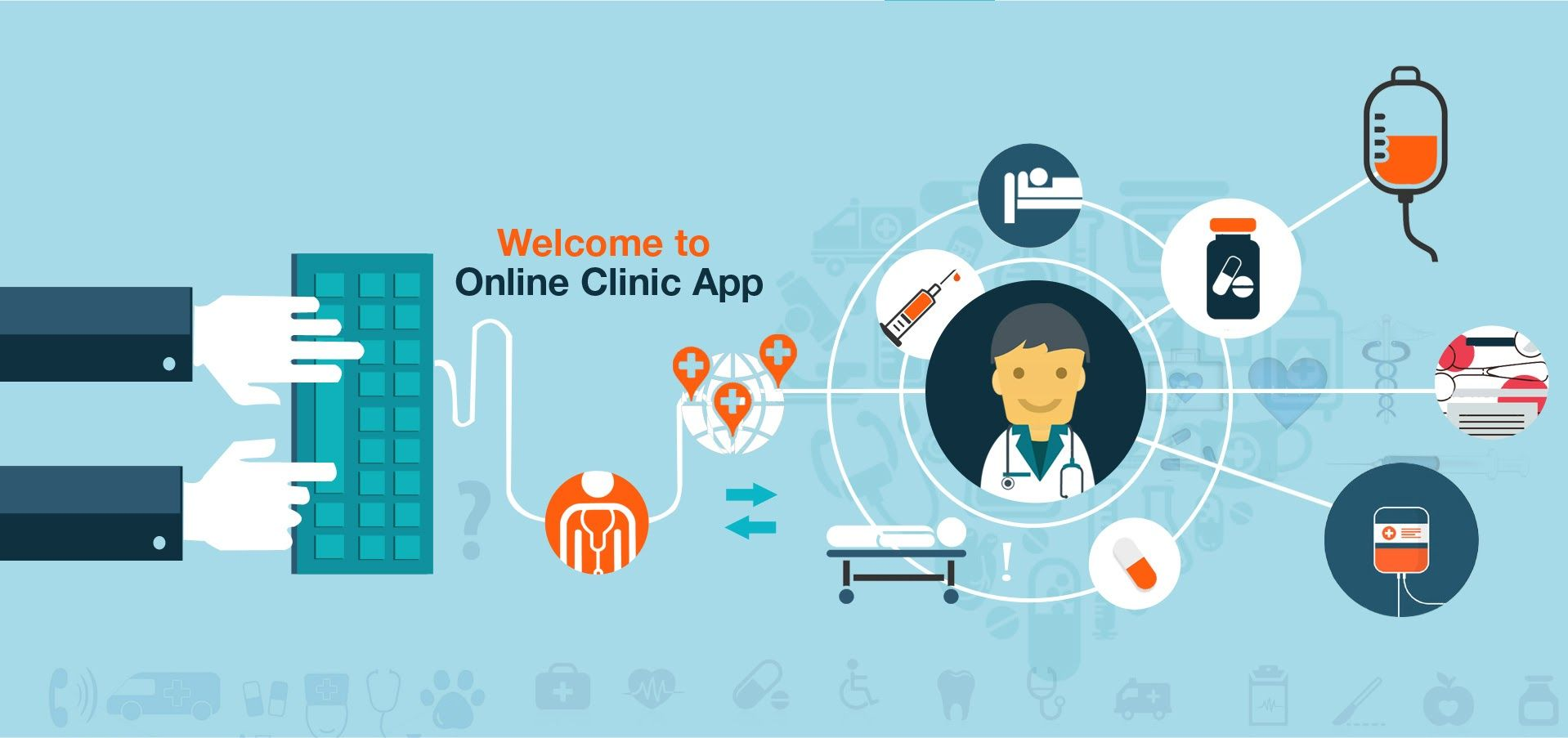 Online Clinic Reservation has web application which
