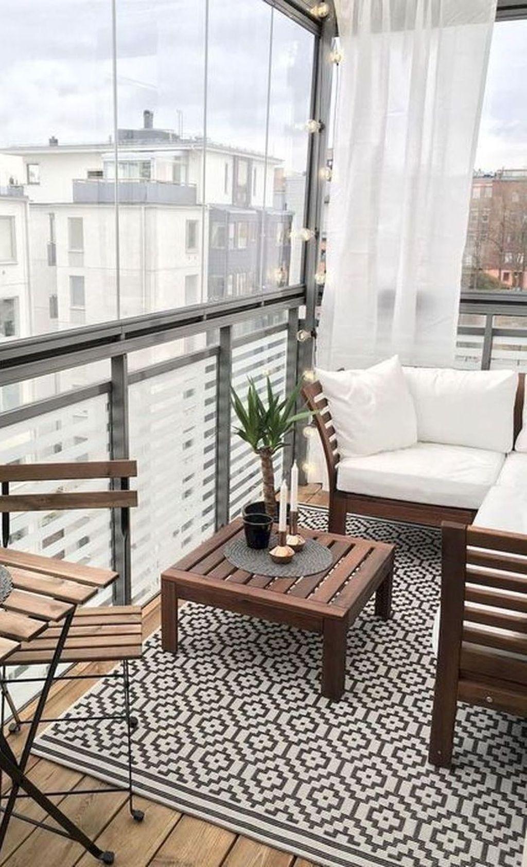 34 Modern Farmhouse Balcony You Will Definitely Want To Try In 2020 Balcony Decor Small Balcony Design Living Room Decor Apartment