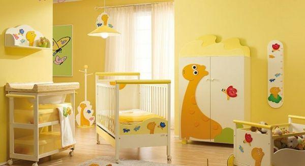quelle dcoration chambre bb crez un intrieur magique pour votre bb - Decoration Chambre Bebe Jaune