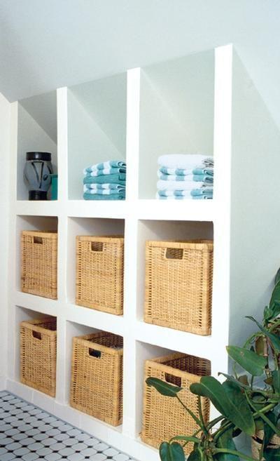 Tolle Idee Fur Dachschragen Einfach Ein Regal Bauen Was Passt Ikea Shelves Home Diy