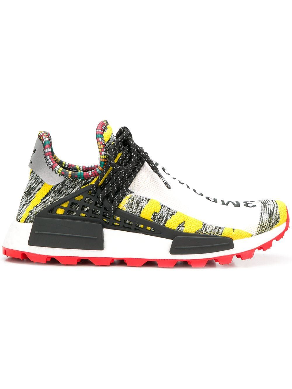 Adidas By Pharrell Williams yellow, grey and red x Pharrell