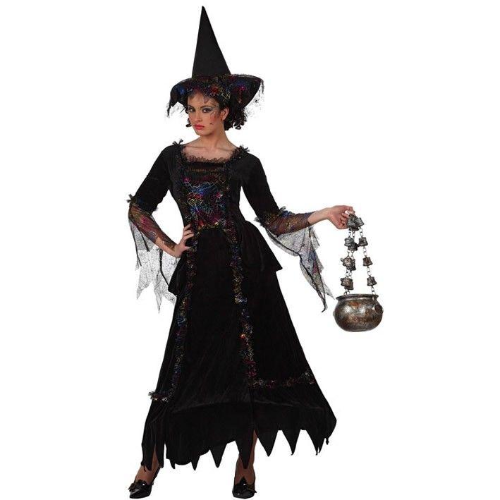 Disfraz de bruja elegante #disfraces #halloween halloween