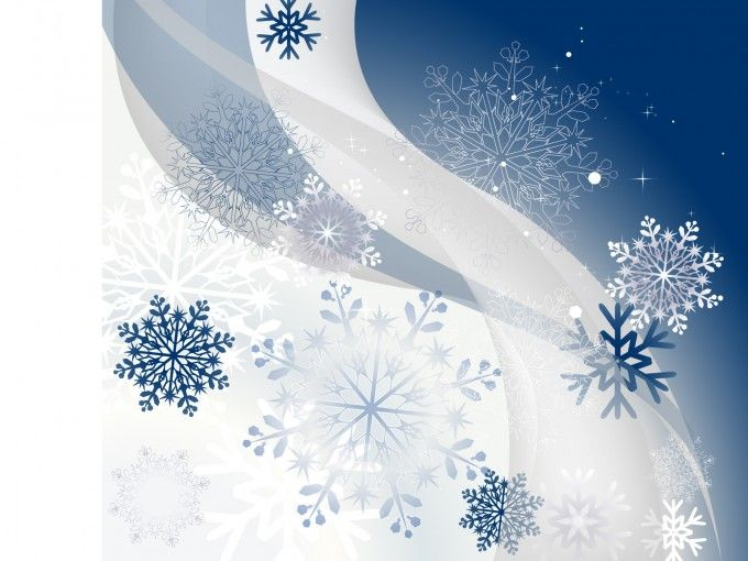 Free Winter Background with Snowflakes ppt template is a white and - winter powerpoint template