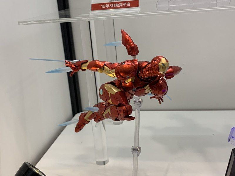 Wf2019w Amazing Yamaguchi Revoltech Bleeding Edge Armor Iron Man Images Iron Man Man Images Iron