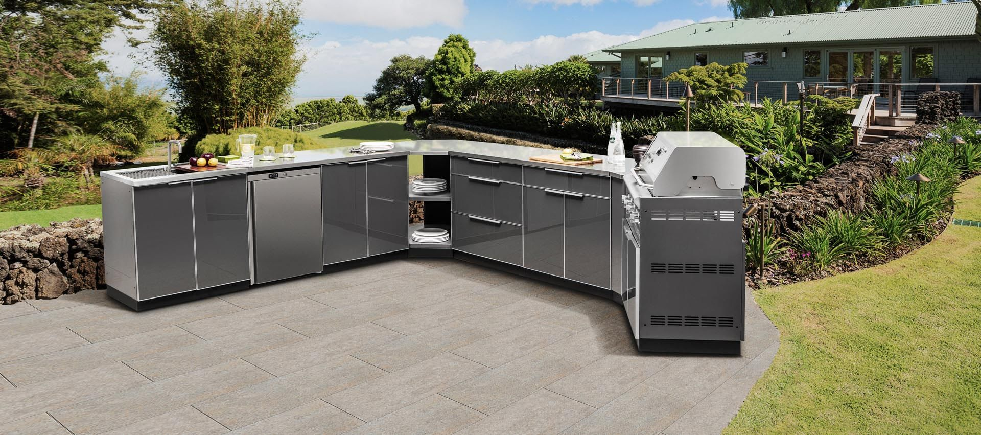 20 Stainless Steel Outdoor Kitchen Cabinets - Interior Paint Color ...