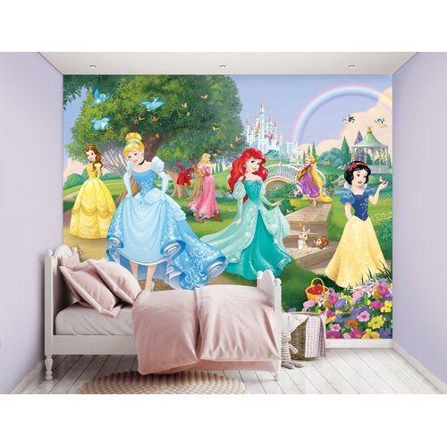 Princess 2.43m x 24.5cm 12 Piece Wallpaper Mural East