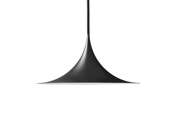 Gubi semi pendant light black mozeypictures Gallery
