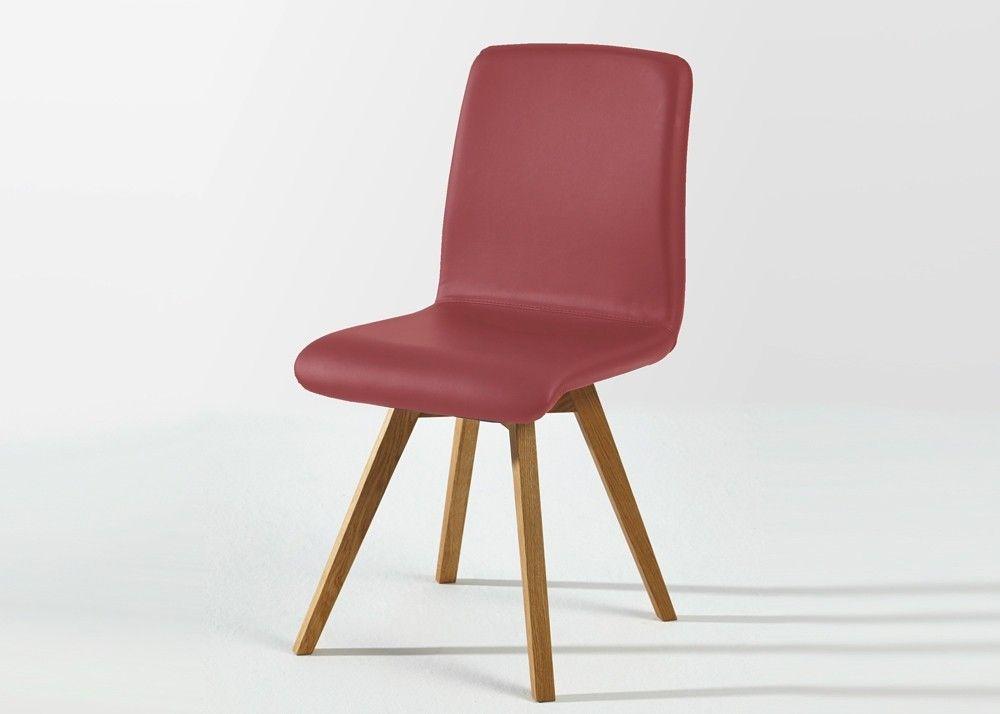 Küchenstuhl Rot ~ Stuhl karla er set gestell holz wildeiche massiv bezug rot