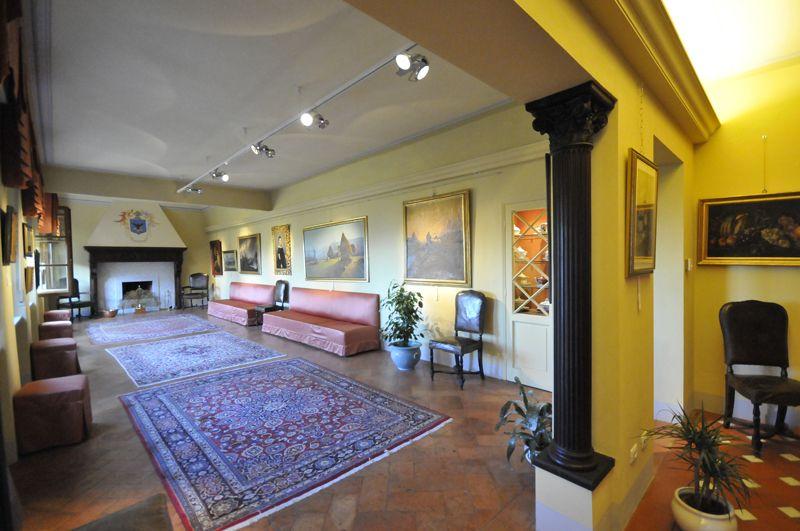Expositions Hall - Viti Palace Museum, Volterra, Tuscany, Italy