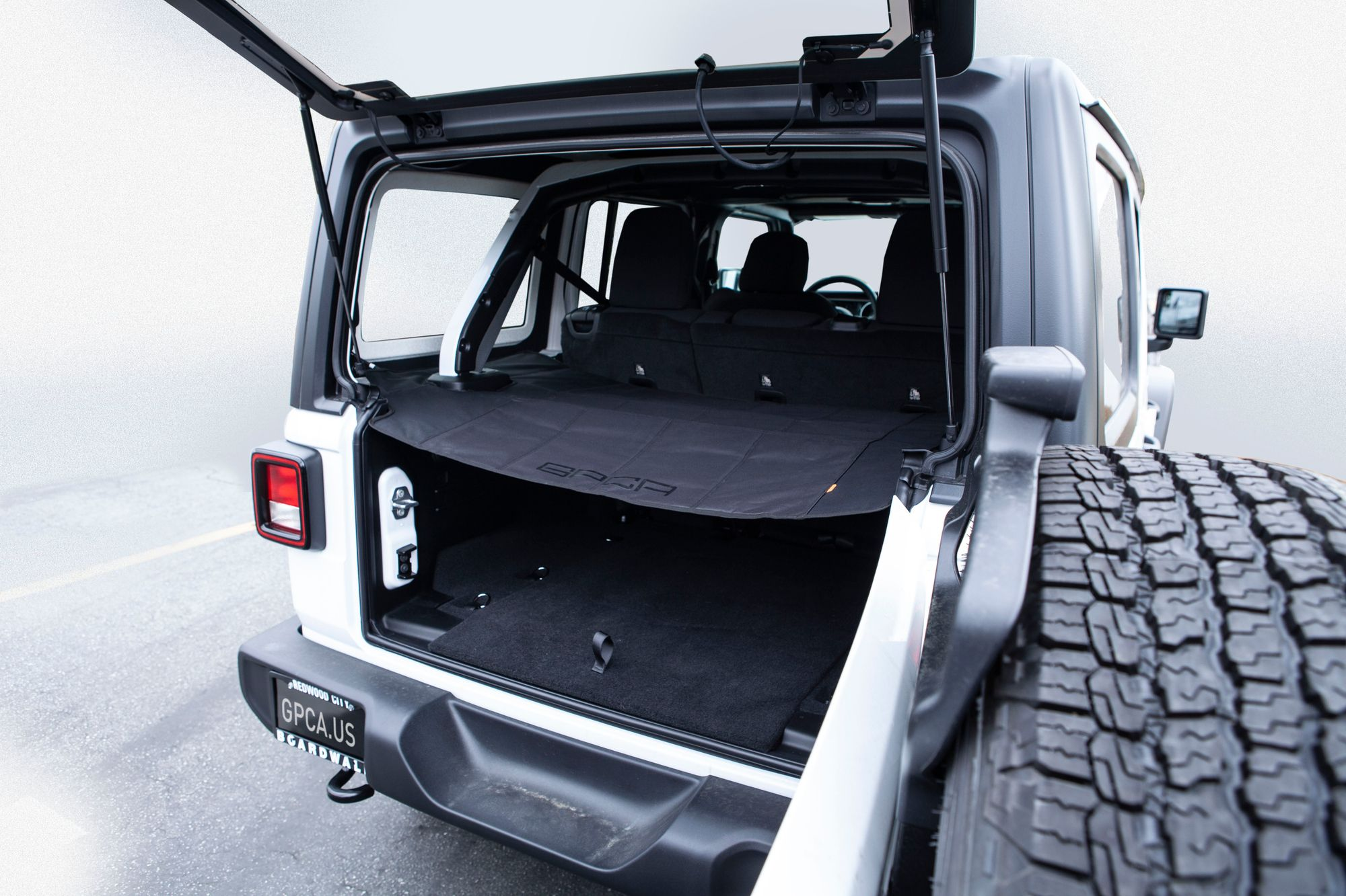 Jeep Wrangler Jl Unlimited Cargo Cover Lite With Images Cargo