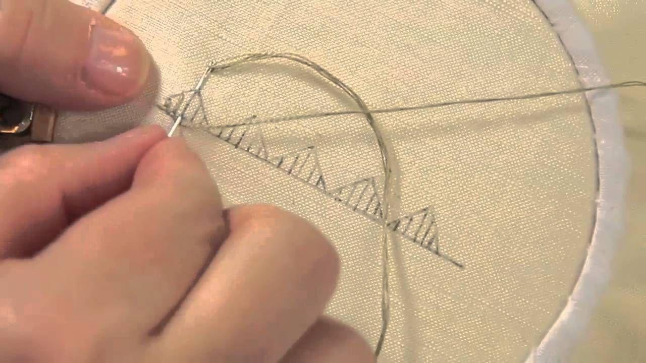 broderie le point grebiche les petites le ons de marie suarez bordados pinterest. Black Bedroom Furniture Sets. Home Design Ideas