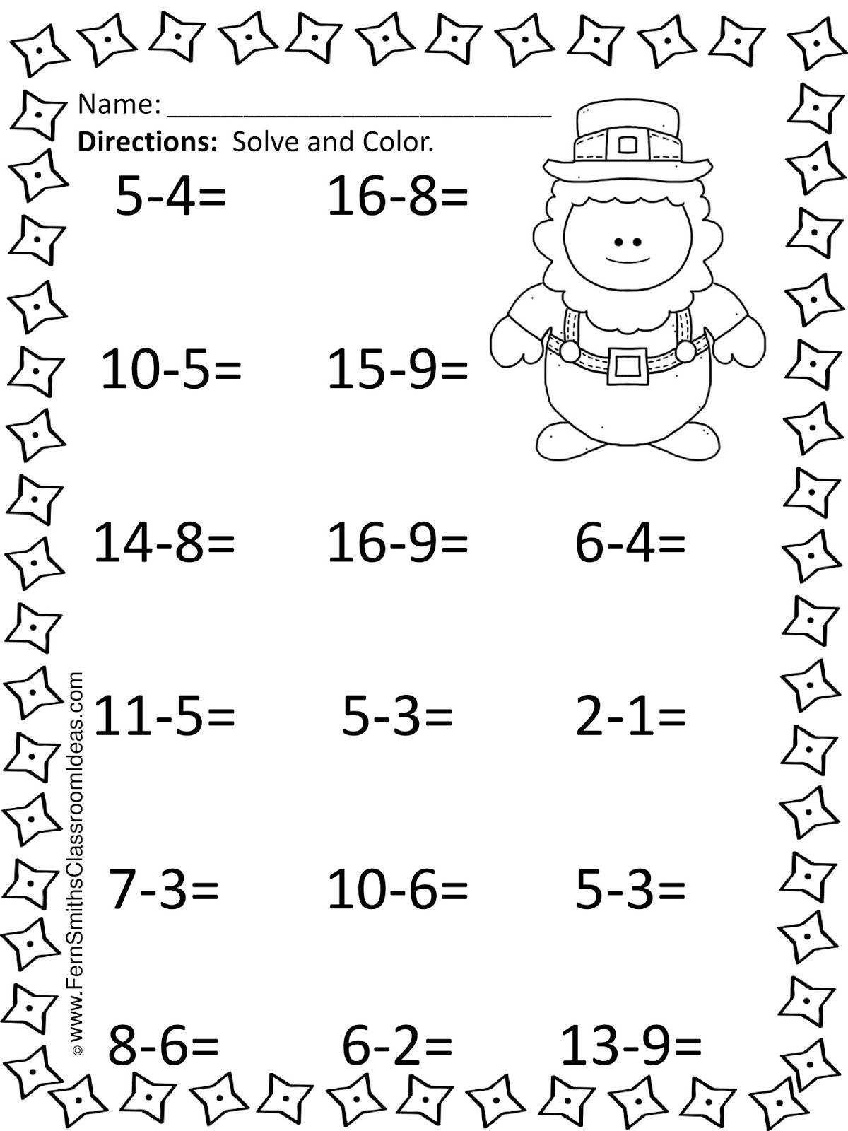 St Patrick S Day Mixed Subtraction Task Cards And Printables Subtraction Task Cards Math Worksheets Subtraction Worksheets [ 1600 x 1200 Pixel ]