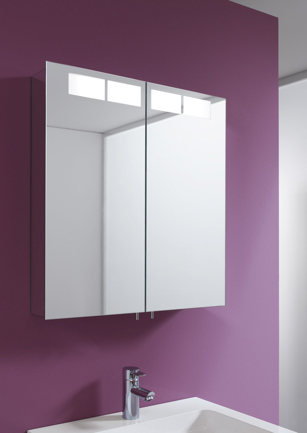 keuco royal t1 2 door mirror cabinet - Bathroom Cabinets Keuco