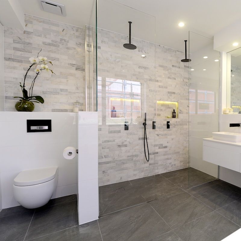 Farben Badezimmer BADEZIMMER DESIGN Pinterest Badezimmer - badezimmer aufteilung neubau