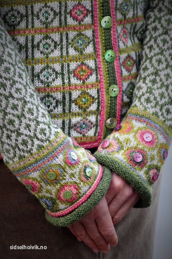 Fair Isle Knitting Kits Canada : Hippie kofte jacket design photo sidsel j